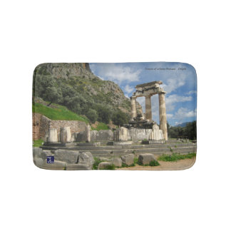 Temple of Athena Pronaea - Delphi Bath Mat