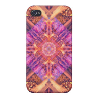 Temple of the Sky God Mandala Case For iPhone 4