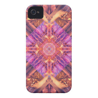 Temple of the Sky God Mandala iPhone 4 Case-Mate Cases