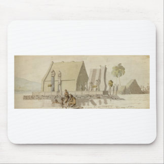 Temple on the Island of Hawaii by Louis Choris Mouse Pad