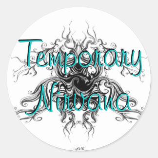 Temporary Nirvana Round Sticker