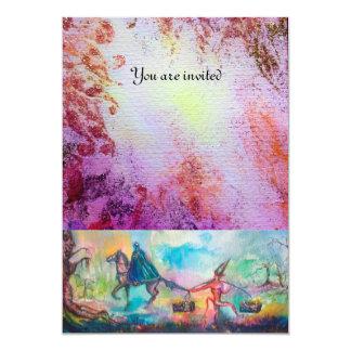 TEMPTATION 13 CM X 18 CM INVITATION CARD