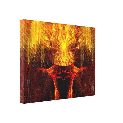 Temptation Stretched Canvas Prints