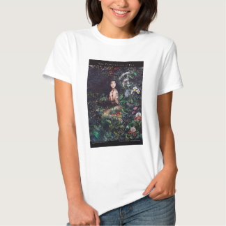 Temptation of Eve Watercolor Painting Tee Shirt