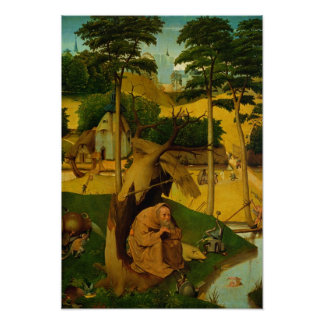 Temptation of St. Anthony, 1490 Posters