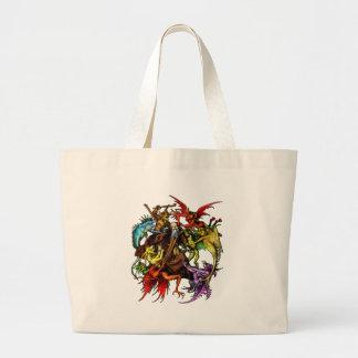 Temptation of St. Anthony Canvas Bag