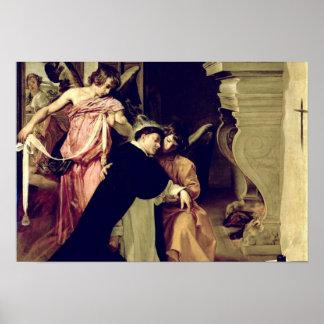 Temptation of St.Thomas Aquinas Print