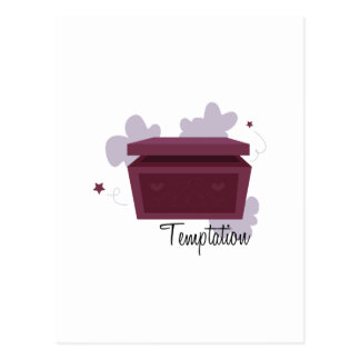 Temptation Postcard