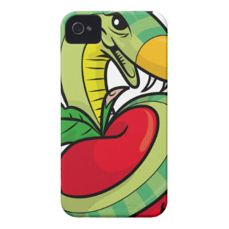Temptation Snake Accessories iPhone 4 Case-Mate Cases
