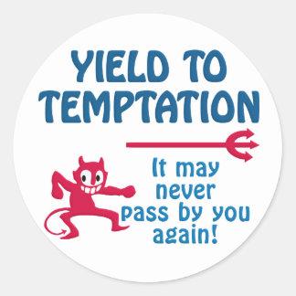 Temptation stickers