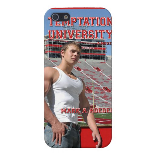 Temptation University iPhone Cover iPhone 5 Covers
