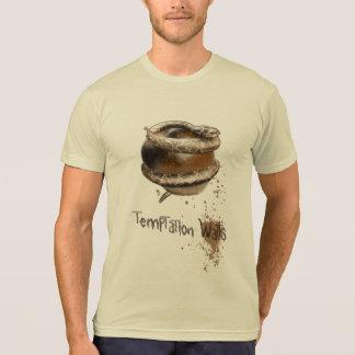 Temptation Waits Sepia T-Shirt