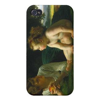 Temptation William-Adolphe Bouguereau iPhone 4 Case