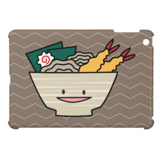Tempura ramen bowl nori shrimp Japanese noodles iPad Mini Case