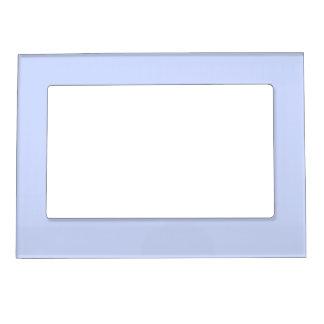 Tender Baby Blue Sky Blue Pastel for Summer Gazebo Magnetic Picture Frame