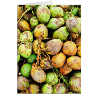 tender coconuts greeting cards