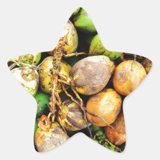 tender coconuts star sticker