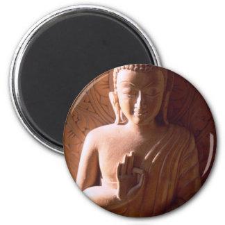 Tender Faced Buddha Fridge Magnet