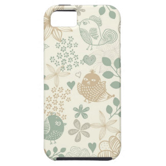 tender faded birds iphone5 case tough iPhone 5 case