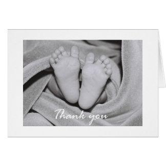 Tender Feet - thank you Greeting Card