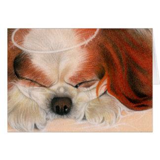 Tender Heart Angel Puppy Card