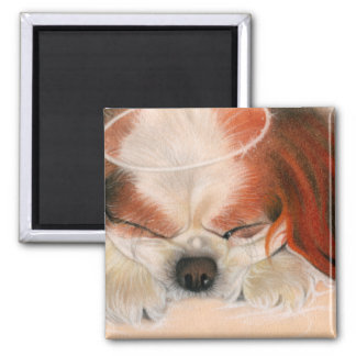 Tender Heart Angel Puppy Magnet
