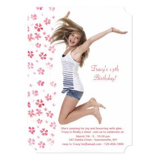 Tender Petals Photo Invitation