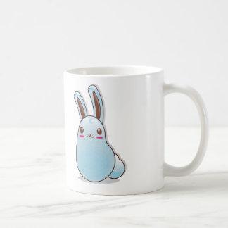 tender rabbit basic white mug