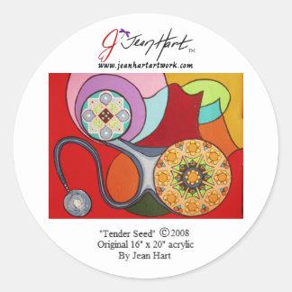 Tender Seed Classic Round Sticker