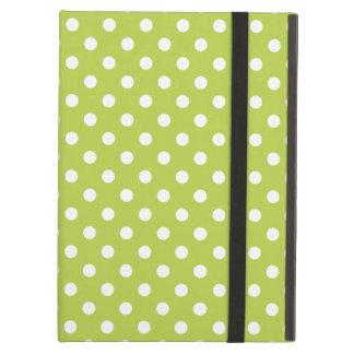 Tender Shoots Green Polka Dot iPad Air Case
