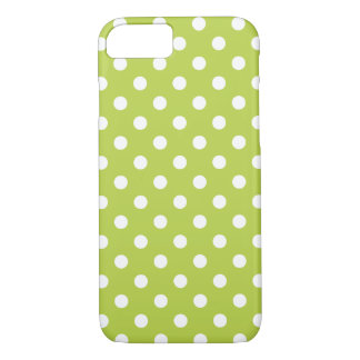 Tender Shoots Green Polka Dot iPhone 7 Case
