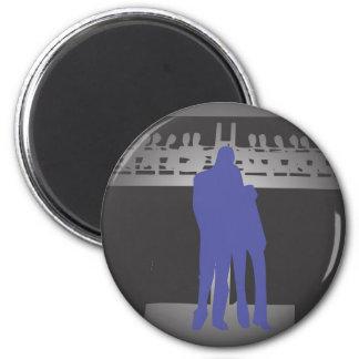 Tenderness 6 Cm Round Magnet