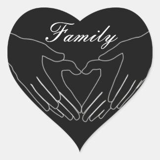 Tenderness Family Heart Sticker