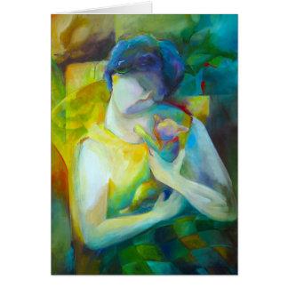 Tenderness - Fine Art Greeting Card