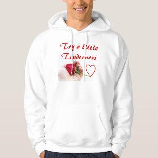 Tenderness mens hoodie