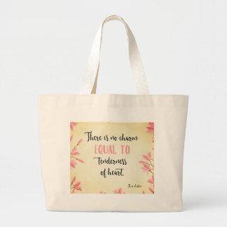 Tenderness of Heart Jumbo Tote Bag