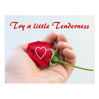 Tenderness postcard