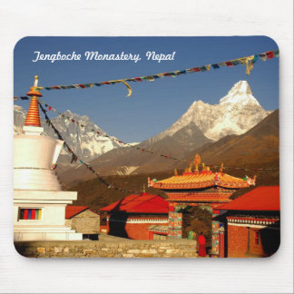 Tengboche Monastery, Nepal Mouse Pad