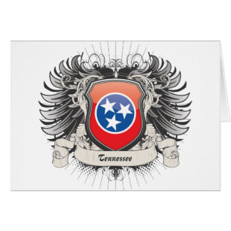 Tennessee Crest Greeting Card