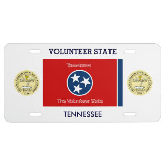 Tennessee Custom Front License Plate License Plate