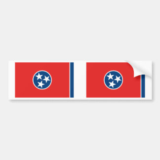 Tennessee Flag Bumper Stickers