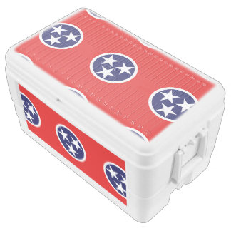 TENNESSEE FLAG IGLOO CHEST COOLER