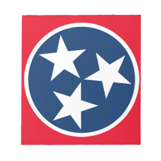 Tennessee Flag Notepad
