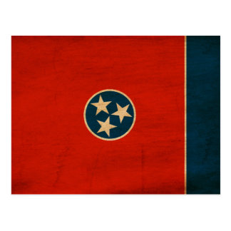 Tennessee Flag Post Cards
