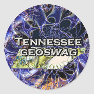 Tennessee Geocaching Supplies Stickers Geoswag