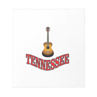 Tennessee Guitar Notepad