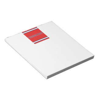 Tennessee Red Notepad