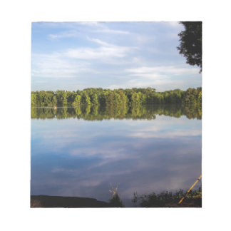 Tennessee River Alabama on a Blue Day Notepad