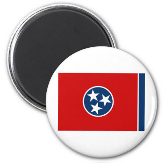 Tennessee State Flag 6 Cm Round Magnet