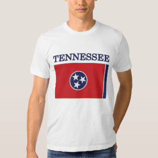 Tennessee State Flag American Apparel T-shirt
